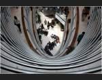 Stuttgart und der mittlere Neckarraum/1813/-gelaendergrafik---einkaufspassage-in-der . Geländergrafik - Einkaufspassage in der Stuttgarter Innenstadt, Architekten: Hascher und Jehle (Matthias)